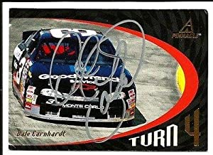 1997 Pinnacle GM Goodwrench Service Dale Earnhardt Sr Signed Auto Trading Card -... by Sports Memorabilia