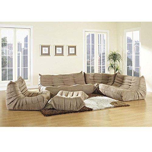 lexington modern waverunner modular sectional sofa set With waverunner modular sectional sofa set 5 piece