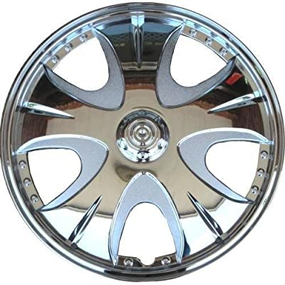 "Drive Accessories KT965-14C 14"" Plastic Wheel Cover, Chrome"