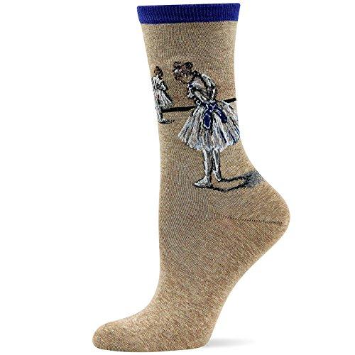 Hot Sox Degas Study Dancer Sock Royal(Medium)