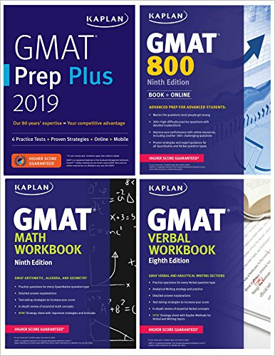 GMAT Complete 2019 The Ultimate in Comprehensive Self-Study for GMAT (Kaplan Test Prep) [Kaplan Test Prep] (Tapa Blanda)