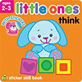 School Zone Little Ones Sticker Skill Book, Think