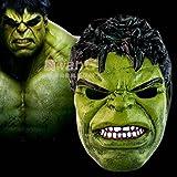 OM® Latex Hulk mask ヒーロー マスク ハルク手袋 仮面 ハロウィン クリスマス 雑貨 コスプレ ハルクマスク 天然ゴムラテックス製  (ハルク)