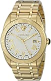 Versace Mens VFE150015 V-Sport Analog Display Quartz Gold Watch