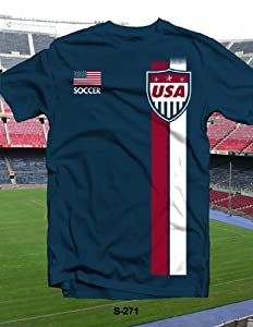 USA Soccer 2014 World Cup Navy T-shirt XX-Large