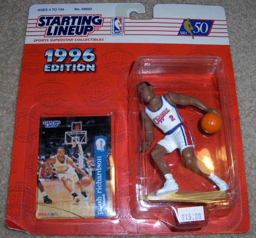 1996 Pooh Richardson NBA Starting Lineup