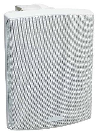 Kindermann AktivboxSet50+ Haut-parleur actif et passif 2 x 30 W RMS Fixation murale incluse Blanc