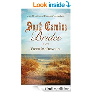 South Carolina Brides: 3-in-1 Historical Collection (Romancing America)