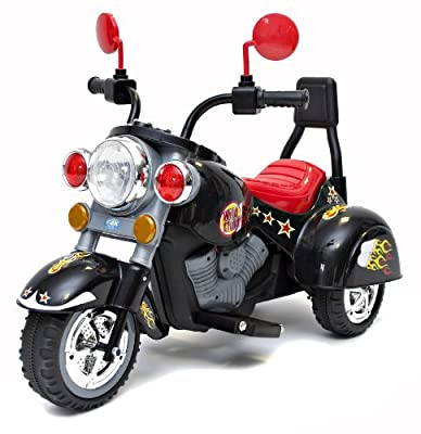 Rocket Mini Harley Wild Child Ride On Motorbike - Black