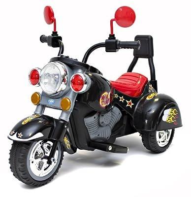 Rocket Mini Harley Wild Child Ride On Motorbike - Black
