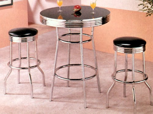 Great Deal: Set of Modern Neat Bar Table w/ Stools