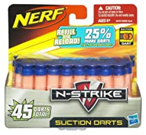 Nerf Suction Darts - Refill and Reload 45 value pack