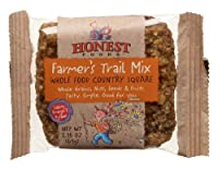 Honest Foods Country Squares Farmer's Trail Mix, 2.15-Ounce Packages (Pack of 12)