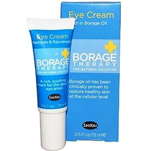 Shikai, Borage Therapy, Eye Cream, 0.5-Ounces