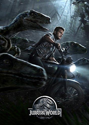 映画 ジュラシック・ワールド ポスター 42x30cm Jurassic World ジュラシック・パーク クリス・プラット [並行輸入品]