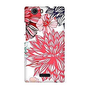 Super Cases Premium Designer Printed Case for Micromax Nitro A311
