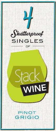 Nv Stack Wine Pinot Grigio, 4 X 187 Ml