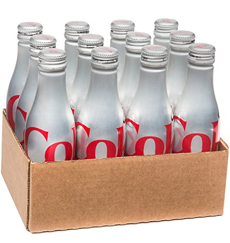 Diet Coke Aluminum Bottle, 8.5 Ounce (Pack of 12) (Soda Aluminum Bottle compare prices)