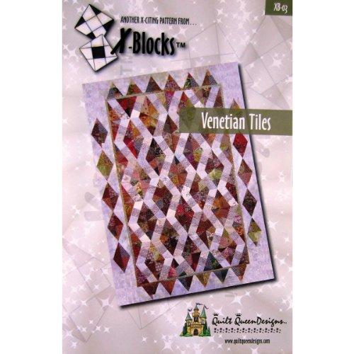 X-Block Quilt Queen Designs Patterns, Venetian Tiles