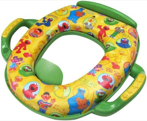 Sesame Deluxe Soft Potty Seat With Sound