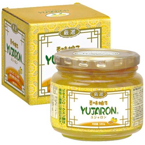 ユジャロン 香味柚子ユジャロン 580g