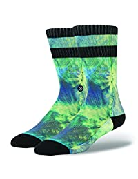 Stance Men's Pineapple Demon Comfort Style Crew Socks