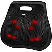 Naipo Lower Back Massager Shiatsu 3D Massage Cushion
