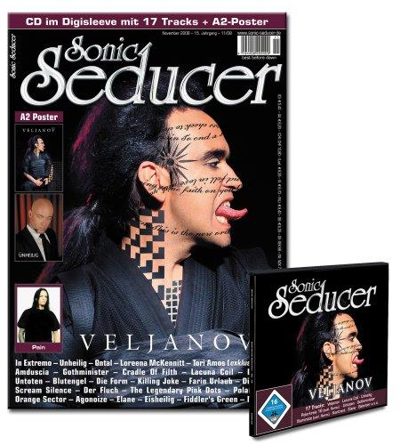 Sonic Seducer 11-08 inkl. 2 Poster & CD mit Veljanov, Lacuna Coil, Unheilig, Polarkreis 18, Untoten, Gothminister, Illuminate, Elane uvm.