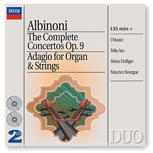 Albinoni: The Complete Concertos/Adagio for Organ & Strings