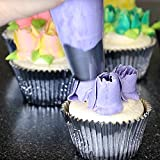 BakeLux Russian Piping Tips Tool Set - 23 Flower Icing Nozzles, Pastry Bag, Video Instructions