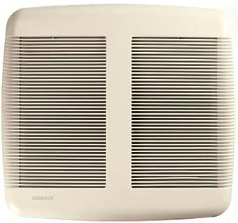 Broan QTR080 Ultra Silent Bath Fan, 1.0-Sones 80 CFM
