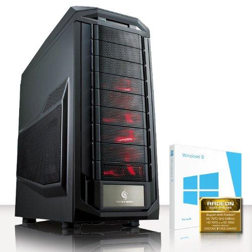 VIBOX Submission 28 - Extreme, Performance, Gaming, PC - Fast 4.0GHz FX 8350 - HD 7970 + x3 Games Bundle Included! (2TB HDD Hard Drive, 16GB DDR3 RAM, XFX 550w Bronze 80+, Bullguard Internet Security, 64bit Windows 8, 3GB AMD Radeon HD 7970 Graphics Card,