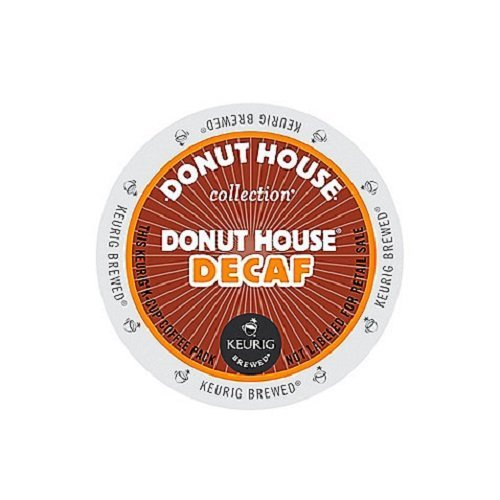 Fantastic Deal! Donut House Collection Donut House Decaf, K-Cup Portion Count for Keurig K-Cup Brewe...