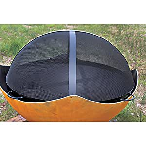 Fire pit spark guard patio lawn garden for Amazon prime fire pit