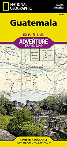 Guatemala : 1/500 000 (Adventure map)