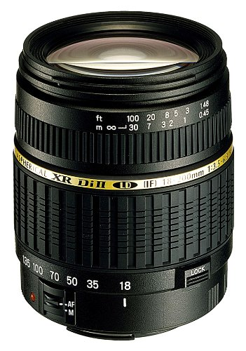 Tamron AF 18-200mm F/3.5-6.3 XR Di II LD Aspherical [IF] Macro Lens for Sony