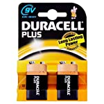 Duracell Plus MN1604 Alkaline 9 V Batteries from Duracell