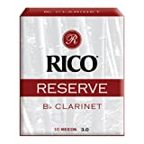Rico 3.0 Strength Reserve Reeds for Bb Clarinet (Pack of 10)