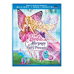 Barbie Mariposa & the Fairy Princess (Blu-ray + DVD + Digital Copy + UltraViolet)