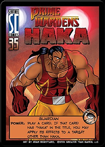 Sentinels of the Multiverse : PRIME WARDEN HERO Expansion Promo - Prime Warden HAKA