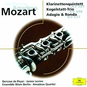 """Trio for Clarinet, Viola and Piano in E flat K.498 """"Kegelstatt"""" - 1. Andante"""