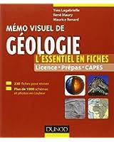 Mémo visuel de géologie - L'essentiel en fiches et en couleurs