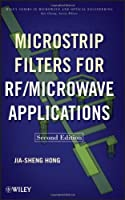 Microstrip Filters for RF/Microwave Applications, 2nd Edition Front Cover