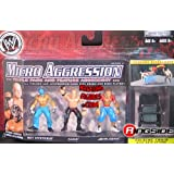 Jakks Pacific KANE, REY MYSTERIO & JOHN CENA - MICRO AGGRESSION 13 WWE TOY WRESTLING ACTION FIGURES (2