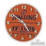 ウォールクロック 壁掛け時計  10-001WC (バスケットボール時計 TF-1000)