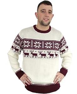 Ugly Christmas Sweater Crazy Grandma Cream