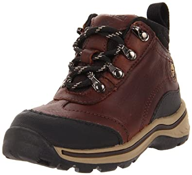 (新低)天木兰 Timberland Back Road Hiker 儿童真皮减震登山中帮靴$35.29