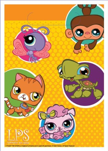 Designware Littlest Pet Shop Loot Bags - 8 ct