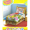 Yo Gabba Toddler Bedding Set   4pc Rainbow Comforter Bed Set