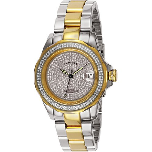 Buy Invicta Men's Limited Edition Pave Diamond Automatic Watch #3429